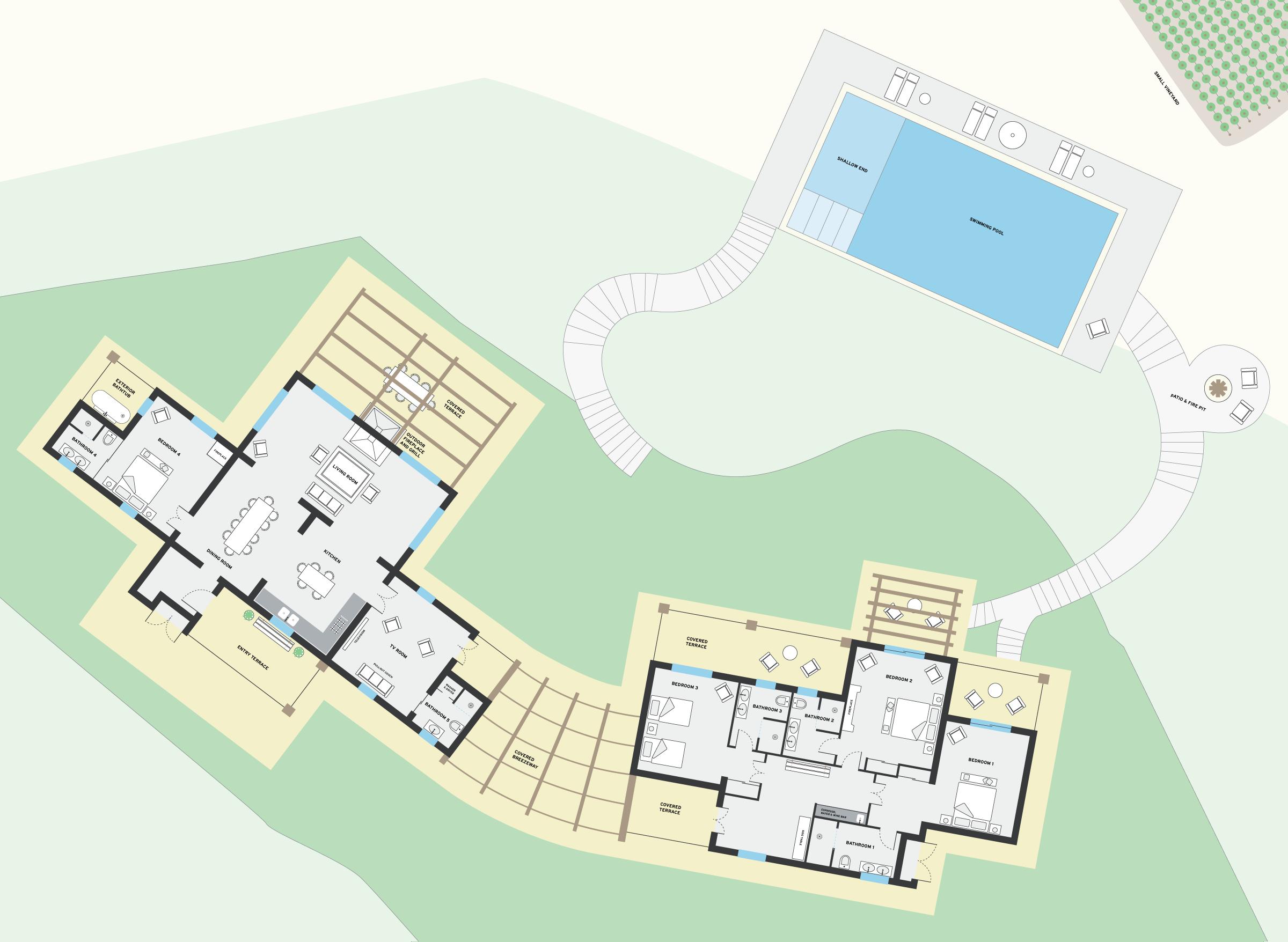 the farmhouse u2013 floorplan la segreta